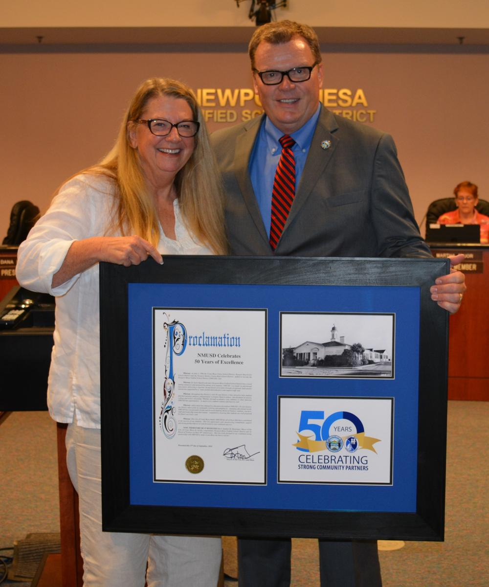 City of Costa Mesa 50th Recognition