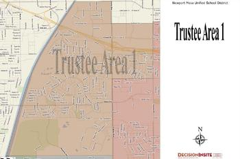 Trustee Area One Map